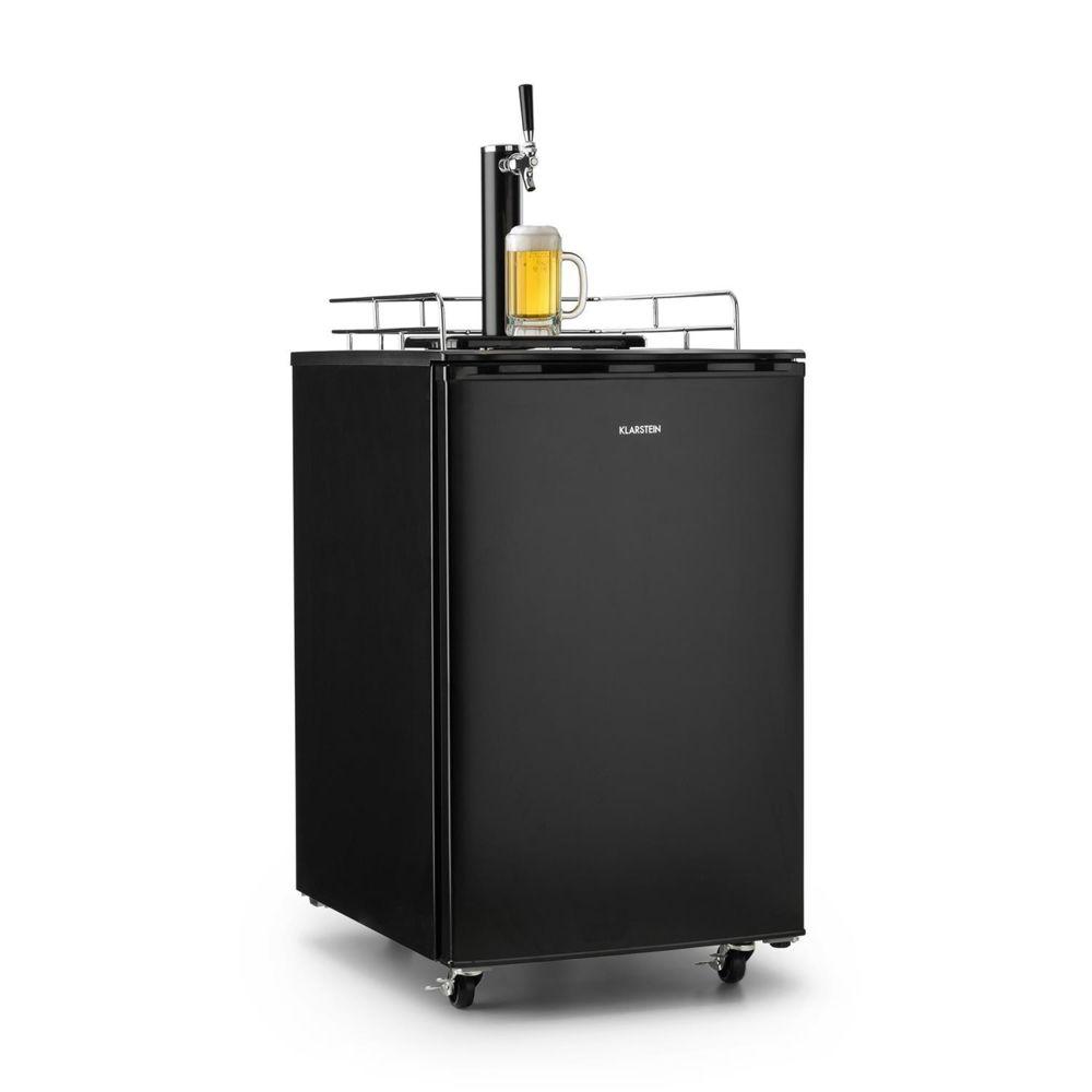 Klarstein Klarstein Big Spender Single Réfrigérateur 50 litres avec tireuse à bière intégrée - Kit complet avec bouteille de CO2