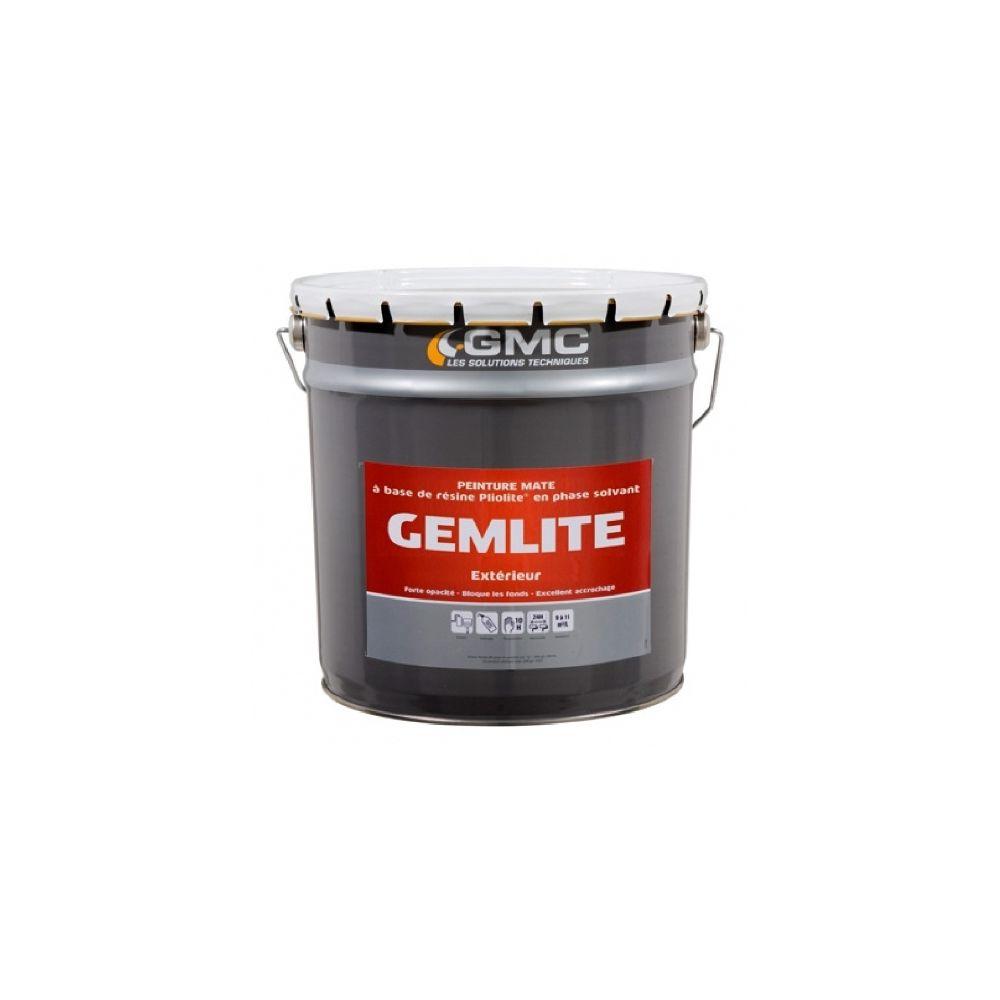 Gmc GEMLITE BLANC 15L- Peinture à base de résine Pliolite-GMC