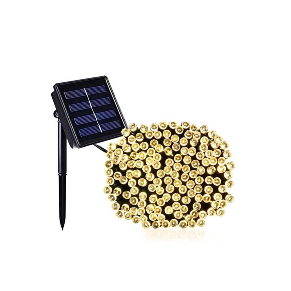 Lumi Jardin LUMI JARDIN Guirlande lumineuse solaire Yogy Solar - Lumiere blanc chaud solaire - 100 LED - 900 cm