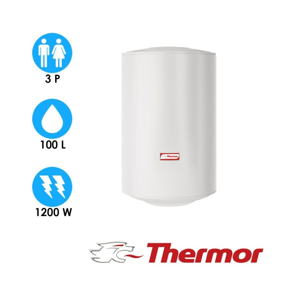 Thermor Chauffe eau stéatis - 100l - vertical mural compact - thermor