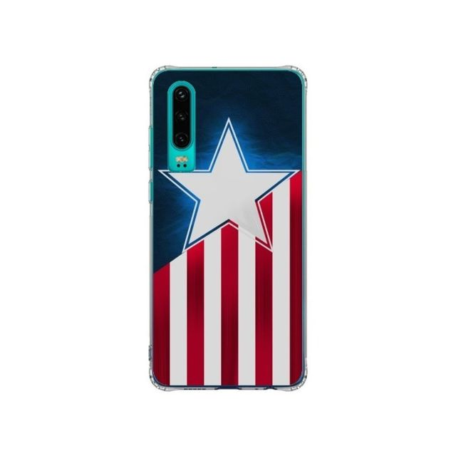 Apple - Coque Huawei P30 Captain America - Eleaxart - Accessoires pour Smartphone Huawei P30
