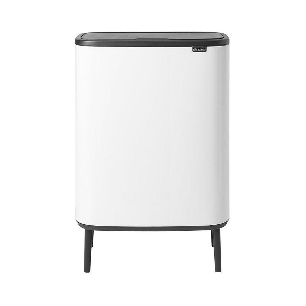 BRABANTIA brabantia - poubelle 2x30l blanc - 130601