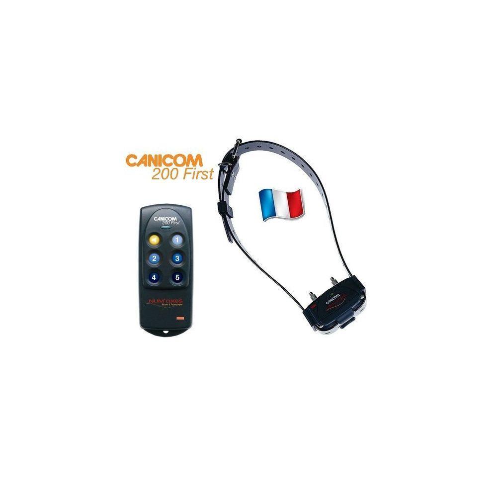 Num'Axes Canicom 200 first de Numaxes - Collier de dressage pour chien - Portée de 200m