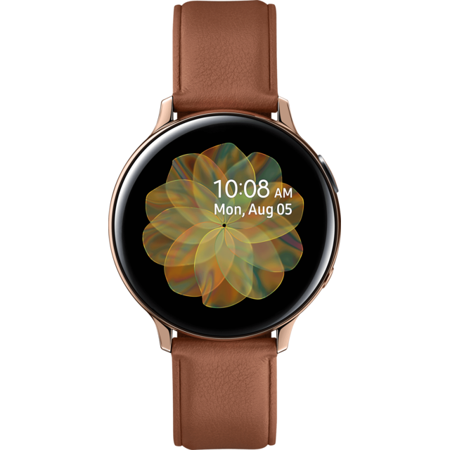 Montre connectée Samsung Galaxy Watch Active 2 - 44 mm - Acier Or