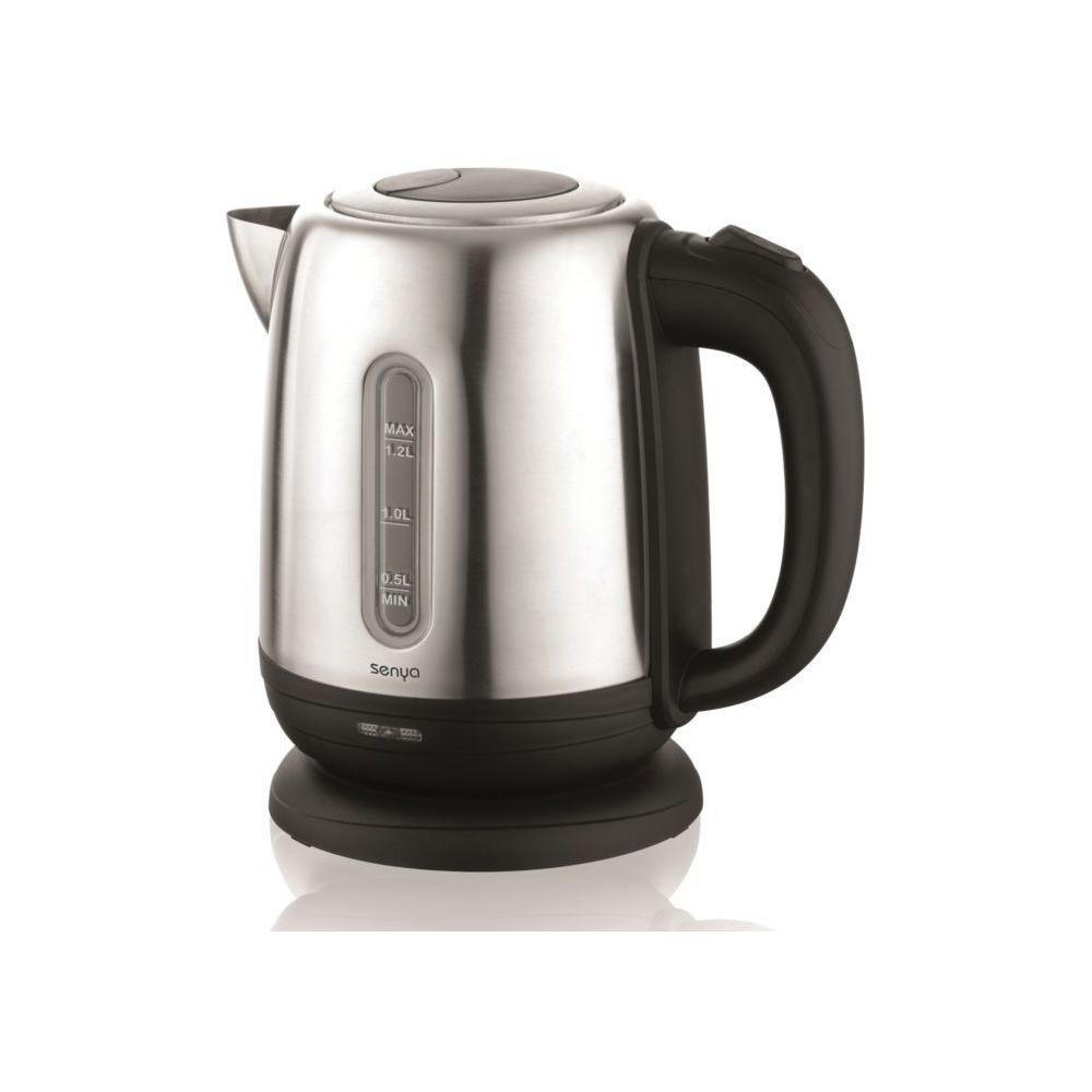 Senya Senya bouilloire électrique Inox Little Tea 1,2L noir