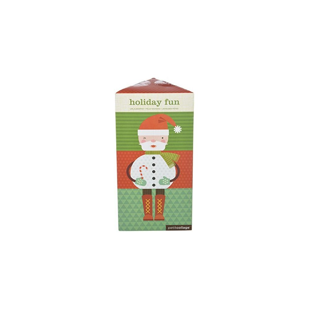 Petit Collage Petit Collage HOLIDAY FUN Mix & Match Card Puzzle Game for kids 3 and up