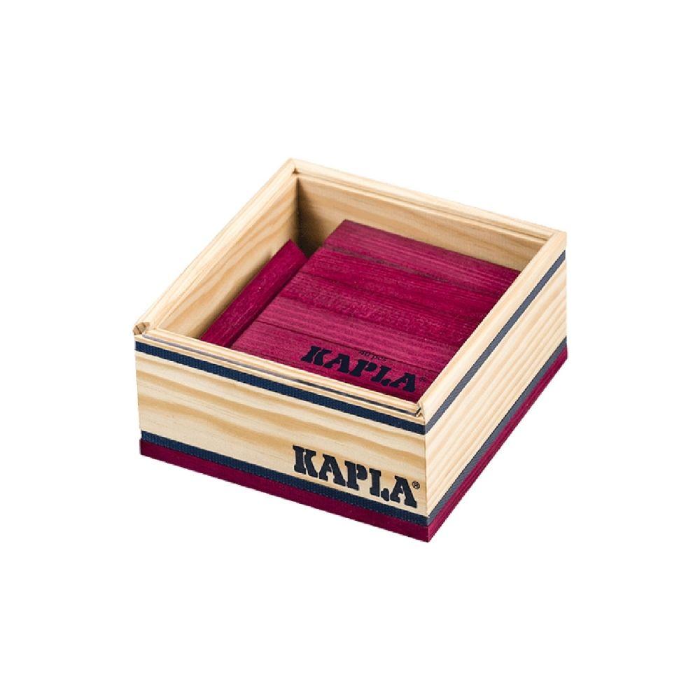 Kapla Kapla - Carré de 40 planchettes en bois violet