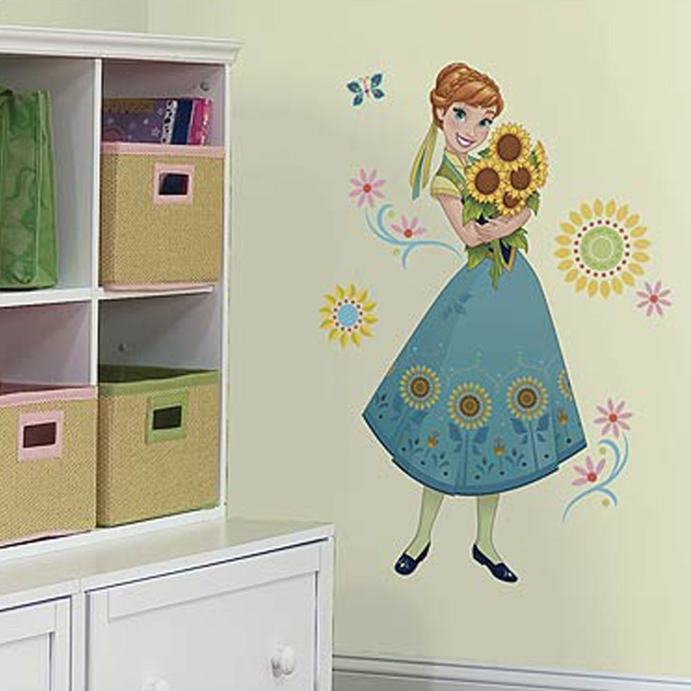 Roommates Sticker géant Anna Fever Reine des Neiges Disney