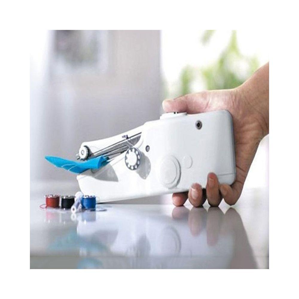 Wewoo Machines à coudre portables miniatures Point Couture Vêtements sans fil Tissus Machine à électrique de