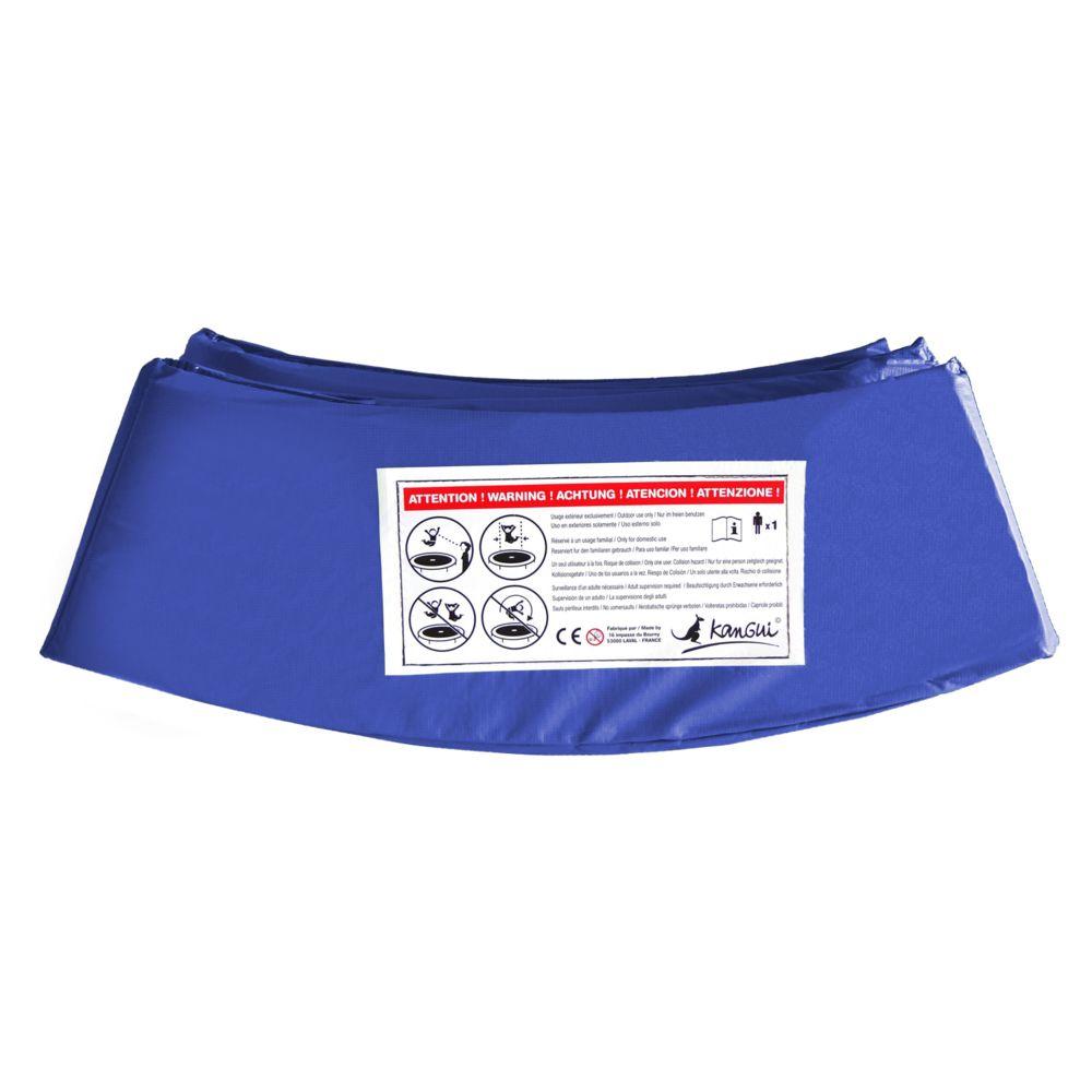 Kangui Kangui - Coussin de protection bleu Ø430cm pour trampoline