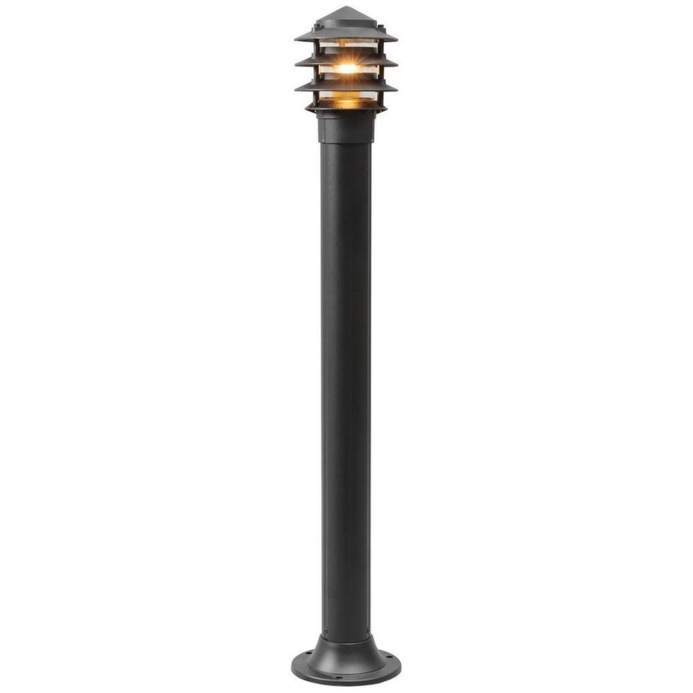 Mw Light Lampe d'extérieur sur pied contemporaine noire