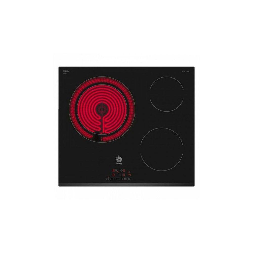 Balay Plaques vitro-céramiques Balay 3EB715LR 60 cm Noir (3 zones de cuisson)