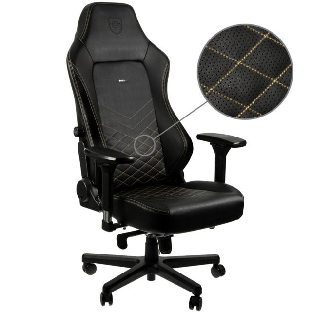 Noblechairs - HERO - Noir/Or - Chaise gamer