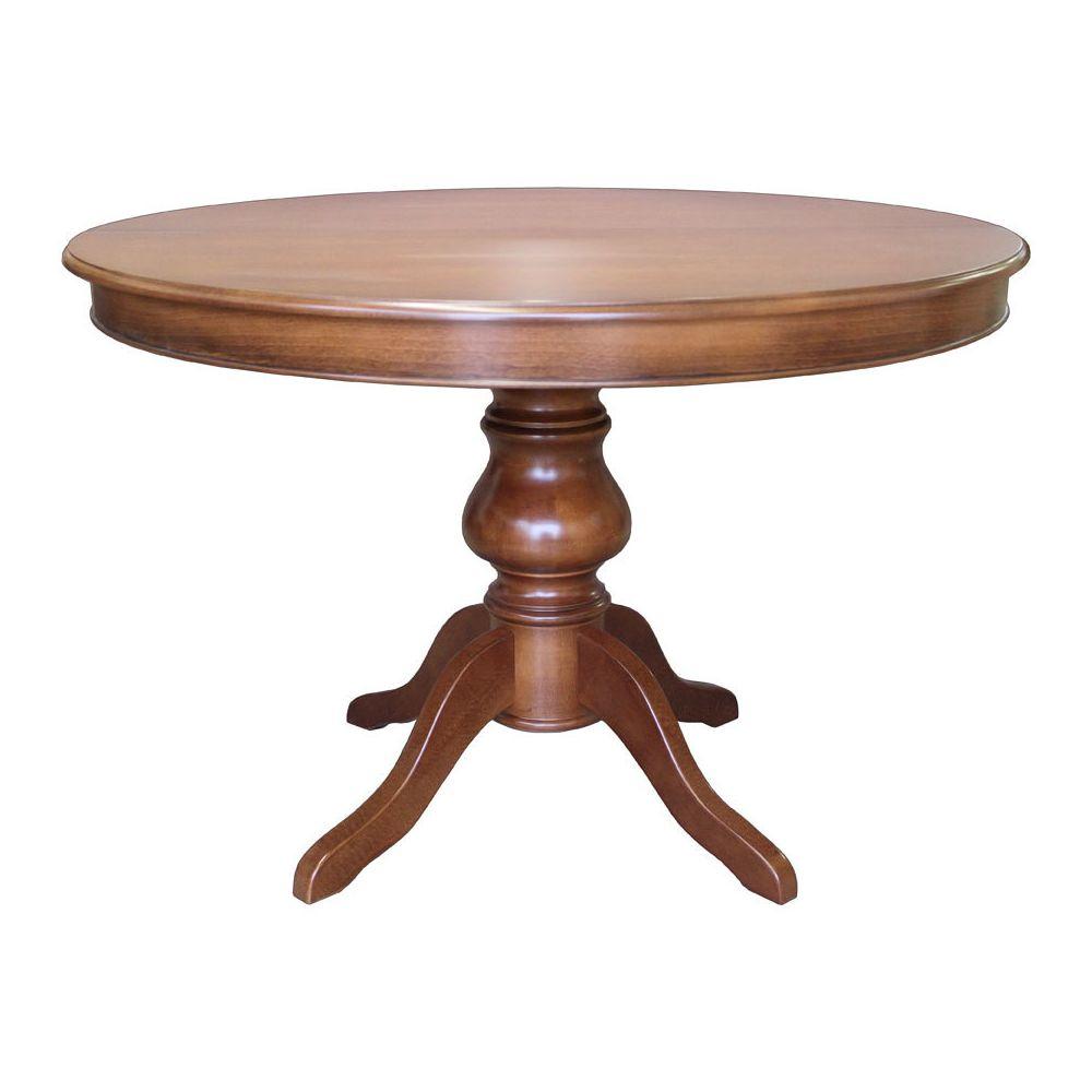 Artigiani Veneti Riuniti Table Louis Philippe ronde à rallonge 110 cm