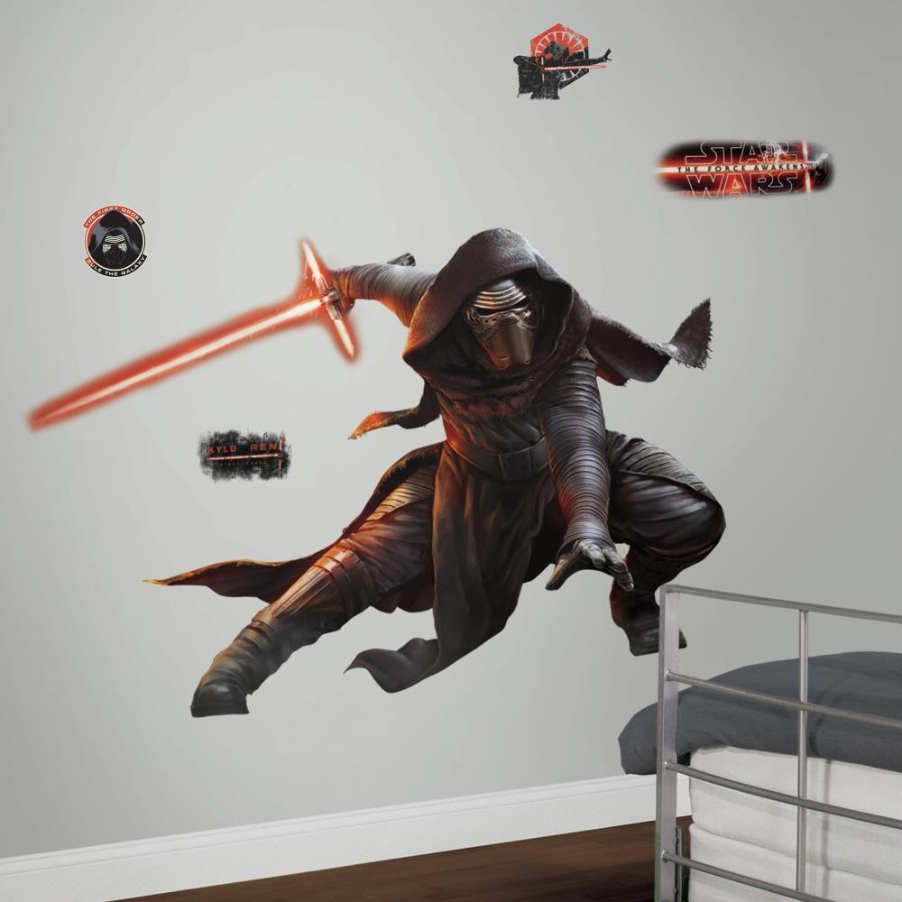 Mon Beau Tapis STAR WARS EP VII KYLO REN - Stickers repositionnables géants Kylo Ren, Star Wars Episode VII 156x104
