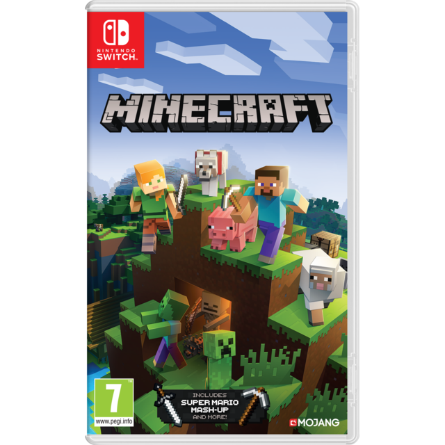 Nintendo - Minecraft (Super Mario Mash-Up inclus) - Jeu Switch - Jeux et Consoles