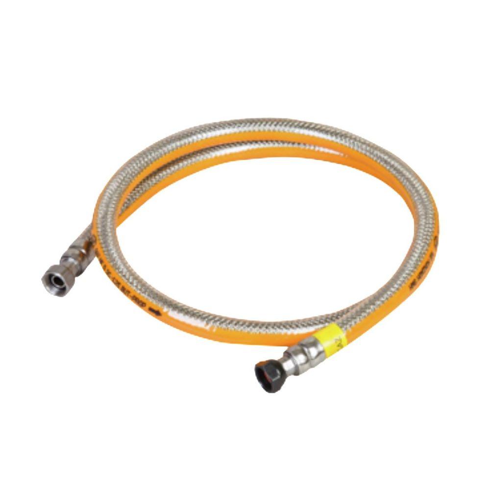 Kemper Tuyau gaz 2.00m Butane/Propane Garantie à vie INOX Flexible Kemper