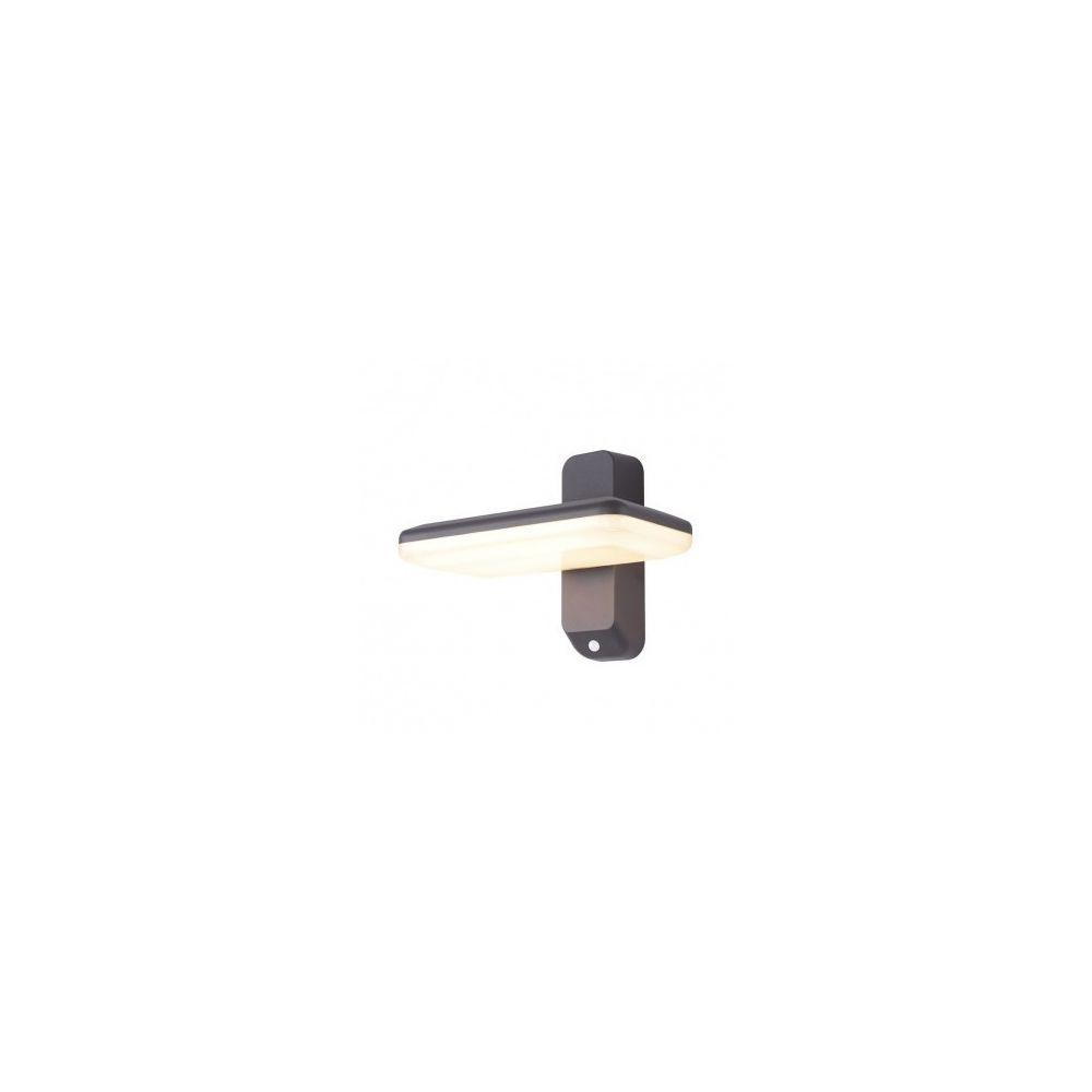 Vision-El Applique Murale LED 13W Orientable Détecteur 3000 K Gris IP54