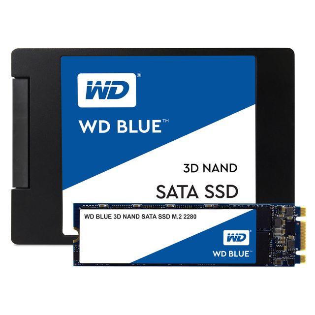 Western Digital - WD BLUE 250 Go M.2 SATA III (6 Gb/s) - Disque SSD M.2