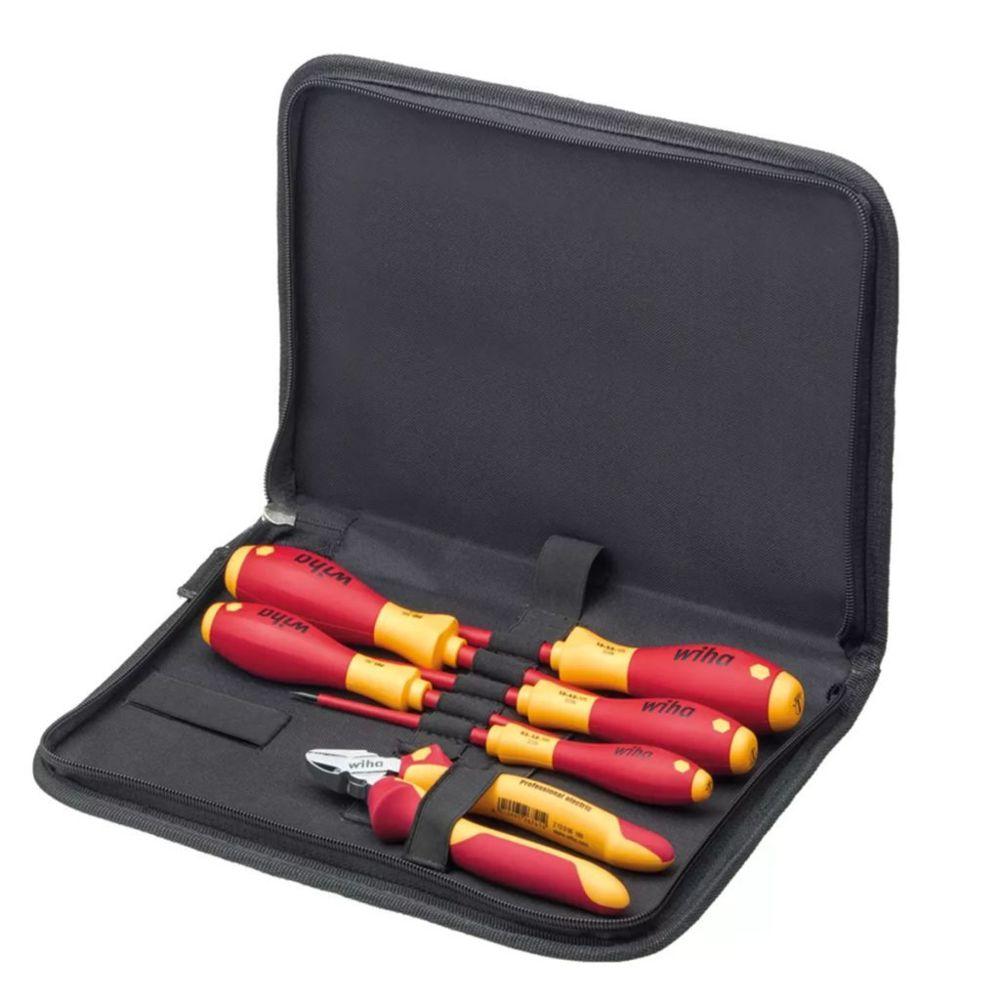Wiha Wiha Ensemble d'outils pour électriciens 6 pcs Acier 9300-018