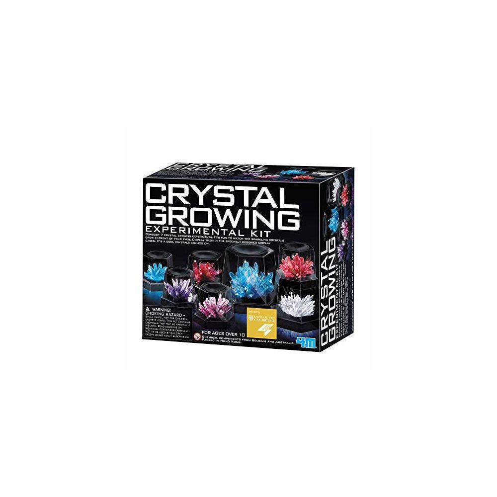 4M 4M Crystal Growing Science Experimental Kit - Easy DIY STEM Toys Lab Experiment Specimens A Great Educational Gift for K