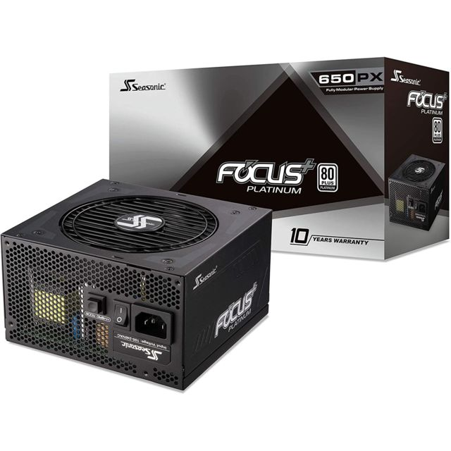 Seasonic - PRIME FOCUS - 650 W - 80 Plus Platinum - Alimentation modulaire