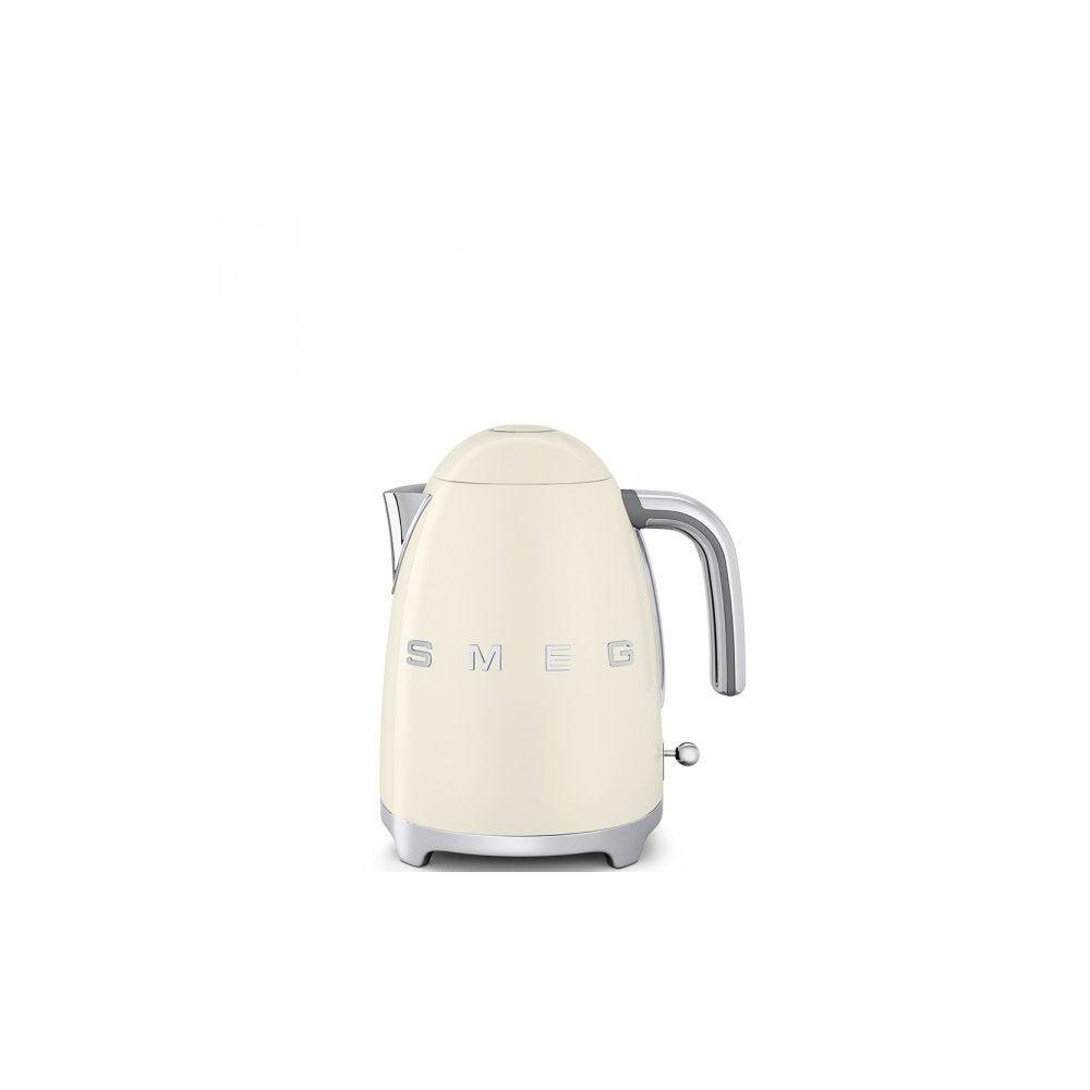 Smeg SMEG Bouilloire 1.7 Litre 360° Années 50 - 2400W Crème KLF03CREU