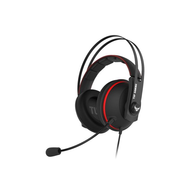 Asus - TUF H7 Core - Rouge  - Micro casque reconditionné