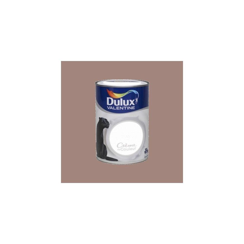 Dulux Valentine DULUX VALENTINE Peinture acrylique Crème de couleur Taupe