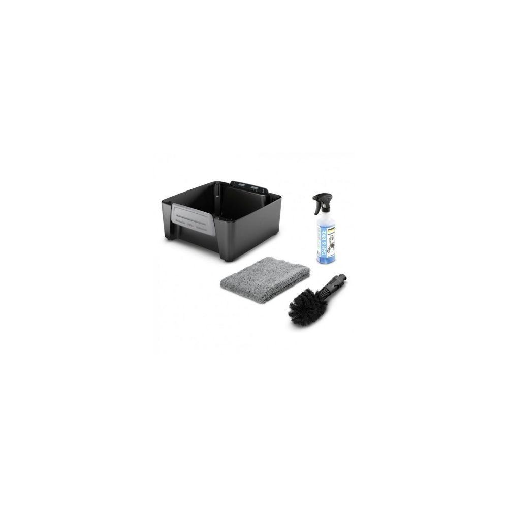Karcher KARCHER Kit velo - Accessoire associe au nettoyeur mobile OC3 - Chiffon microfibre, une brosse universelle et un deterge