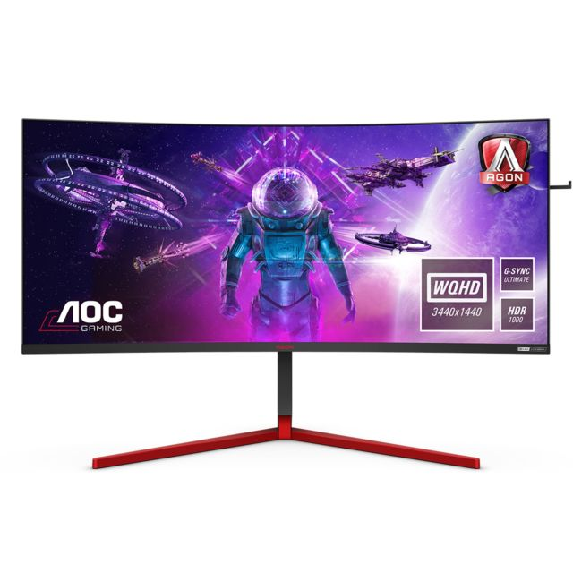 "Aoc - 35"""" LED AG353UCG - Moniteur PC"