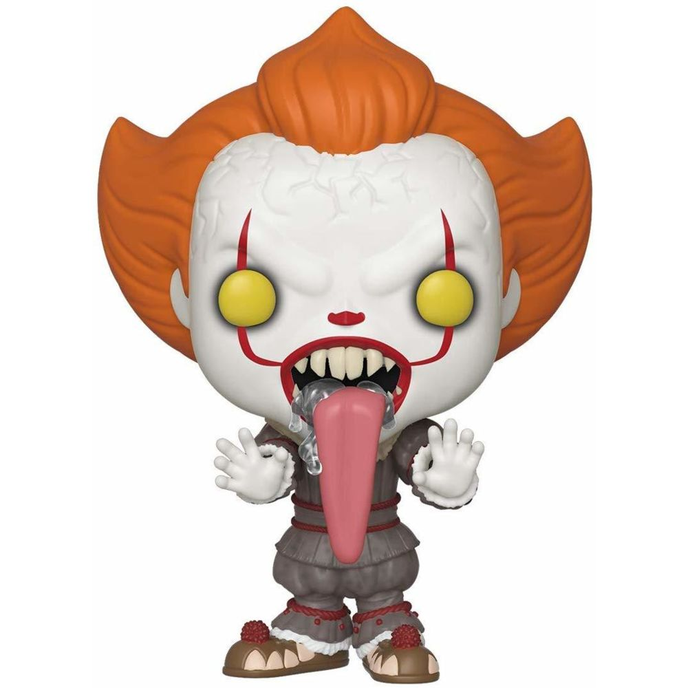 Funko Funko- Pop Vinyl: Movies: IT: Chapter 2-Pennywise w/Dog Tongue Figurine de Collection, 40631, Multicolore