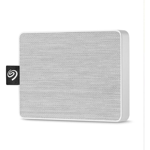 Seagate - One Touch SSD - 1To - USB 3.0 - Blanc - Disque SSD Seagate