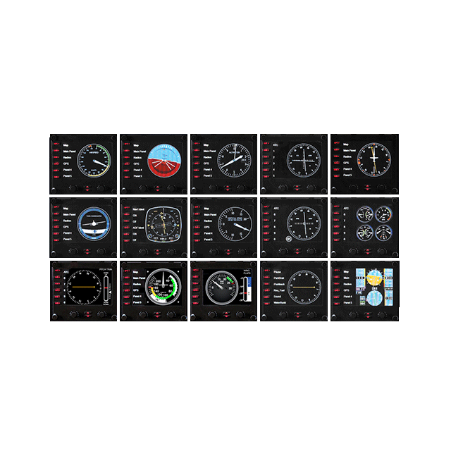 Joystick Saitek Pro Flight Instrument Panel