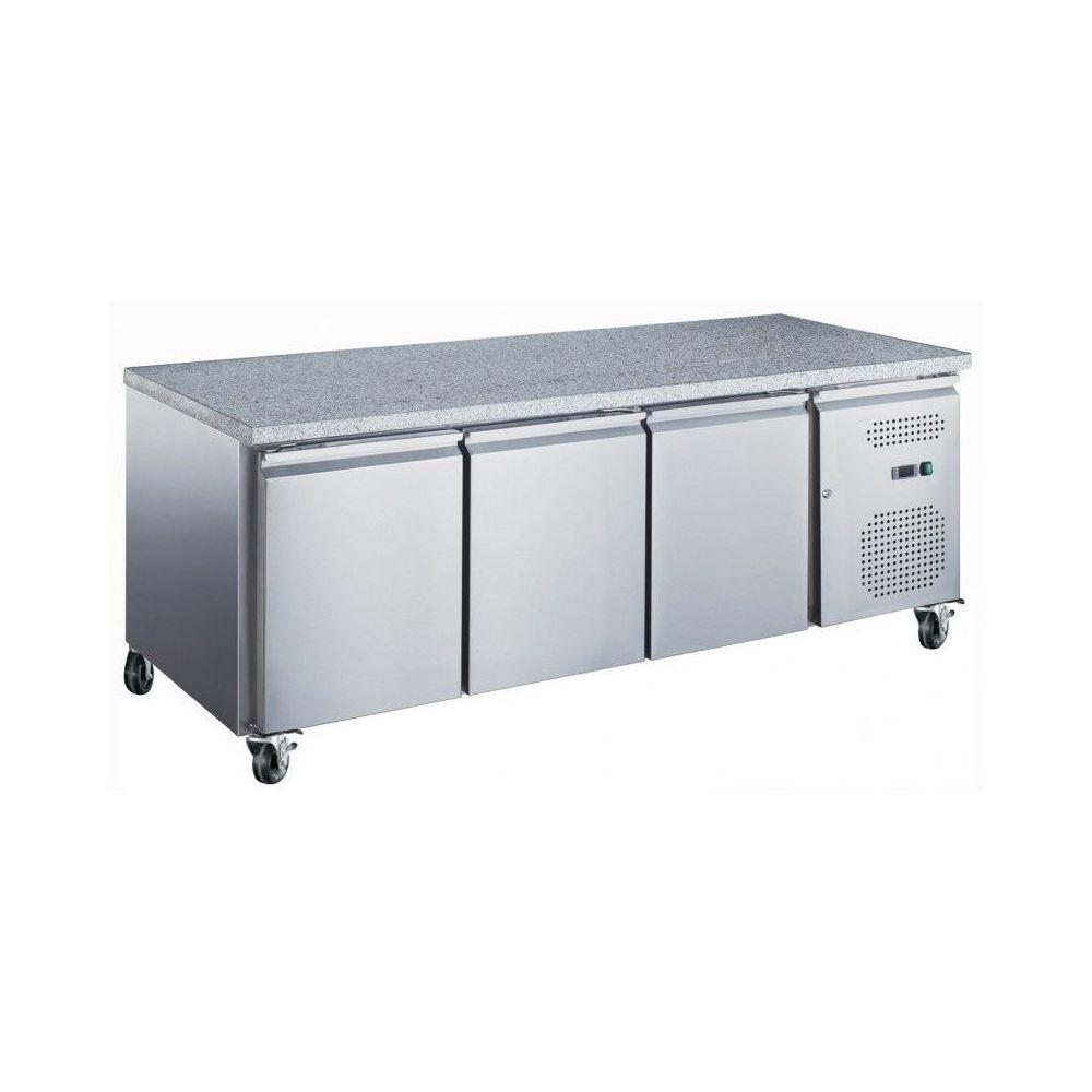 Materiel Chr Pro Table Réfrigérée Pâtissière Positive Marbre - 600 x 400 - AFI Collin Lucy - 2020 mm 800