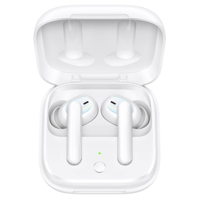 Oppo - Enco W51 - Ecouteur Bluetooth - Blanc - Casque audio