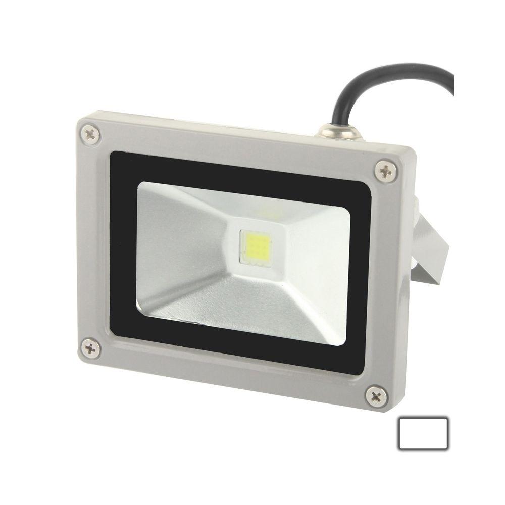 Wewoo Projecteur LED Lampe de de la puissance élevée blanche de 10W, CA 85-265V, flux lumineux: 900lm