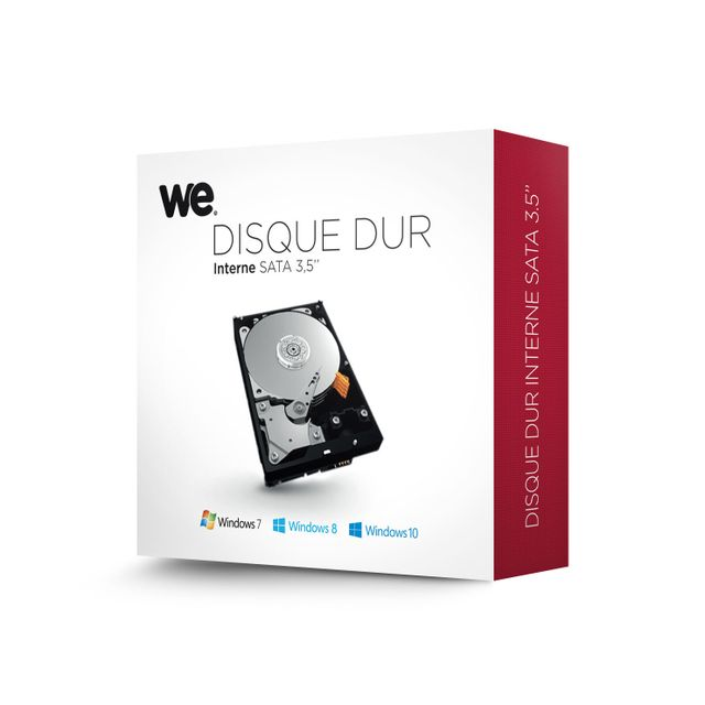 Western Digital - Samsung WE 3 To - 3.5'' SATA III 6 Go/s - Cache 64 Mo - Disque Dur interne