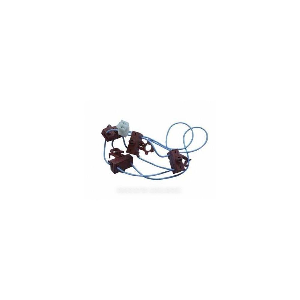 whirlpool Inter poussoir allumeur kit x4 pour table de cuisson whirlpool