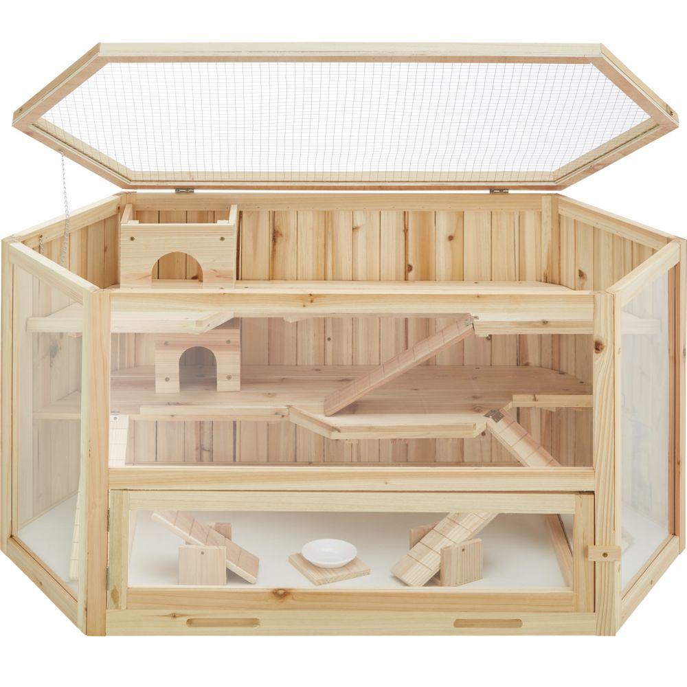 Tectake TecTake Cage pour rongeurs 115 x 60 x 58 cm