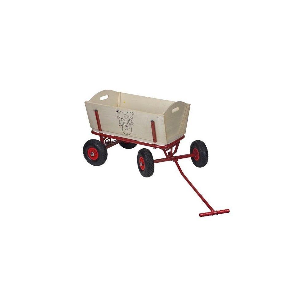 Lm-Distribution Chariot en bois - LUTIN PLOP