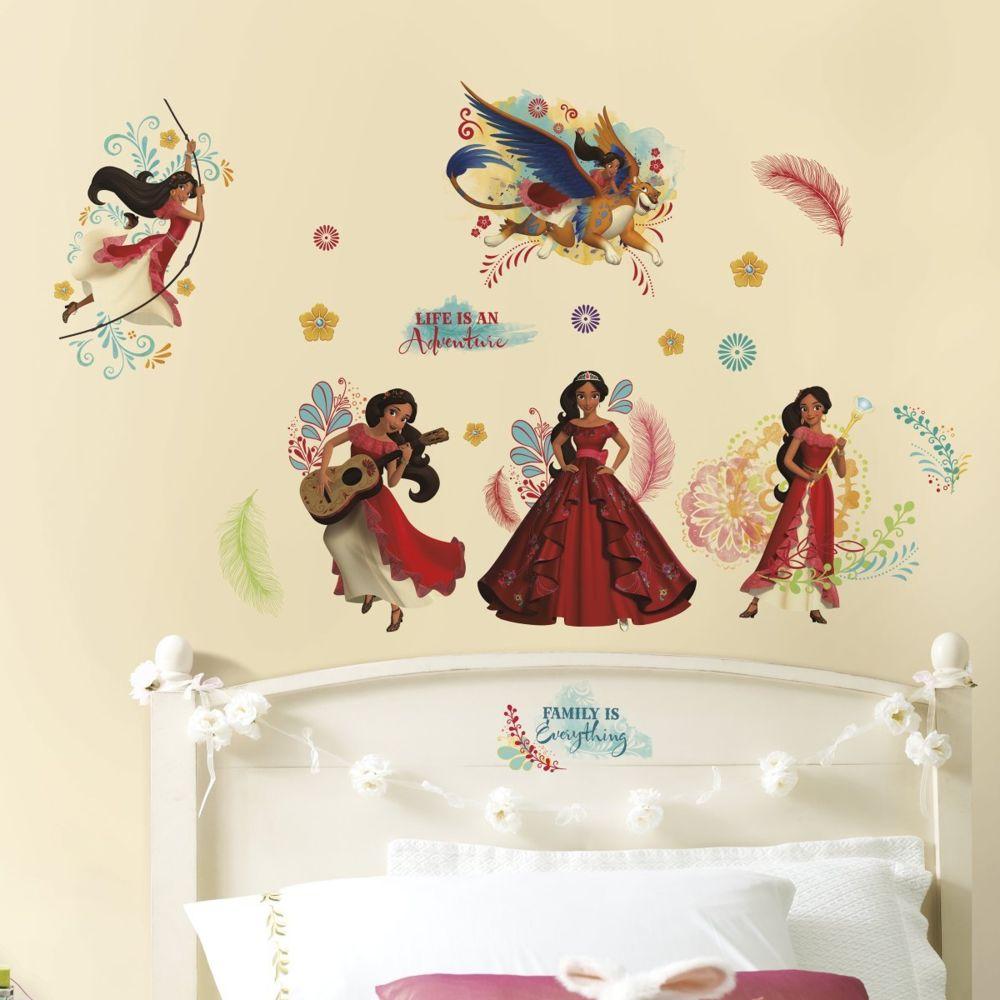 Roommates 24 Stickers géant Elena d'Avalor Disney