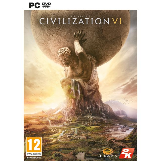 2K Games - CIVILIZATION VI - PC 2K Games   - Jeux PC 2K Games