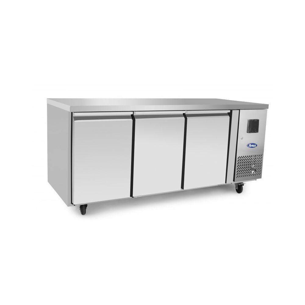 Atosa Table Réfrigérée Positive Profondeur 600 - 3 Portes - Atosa - R290 3 Portes 600