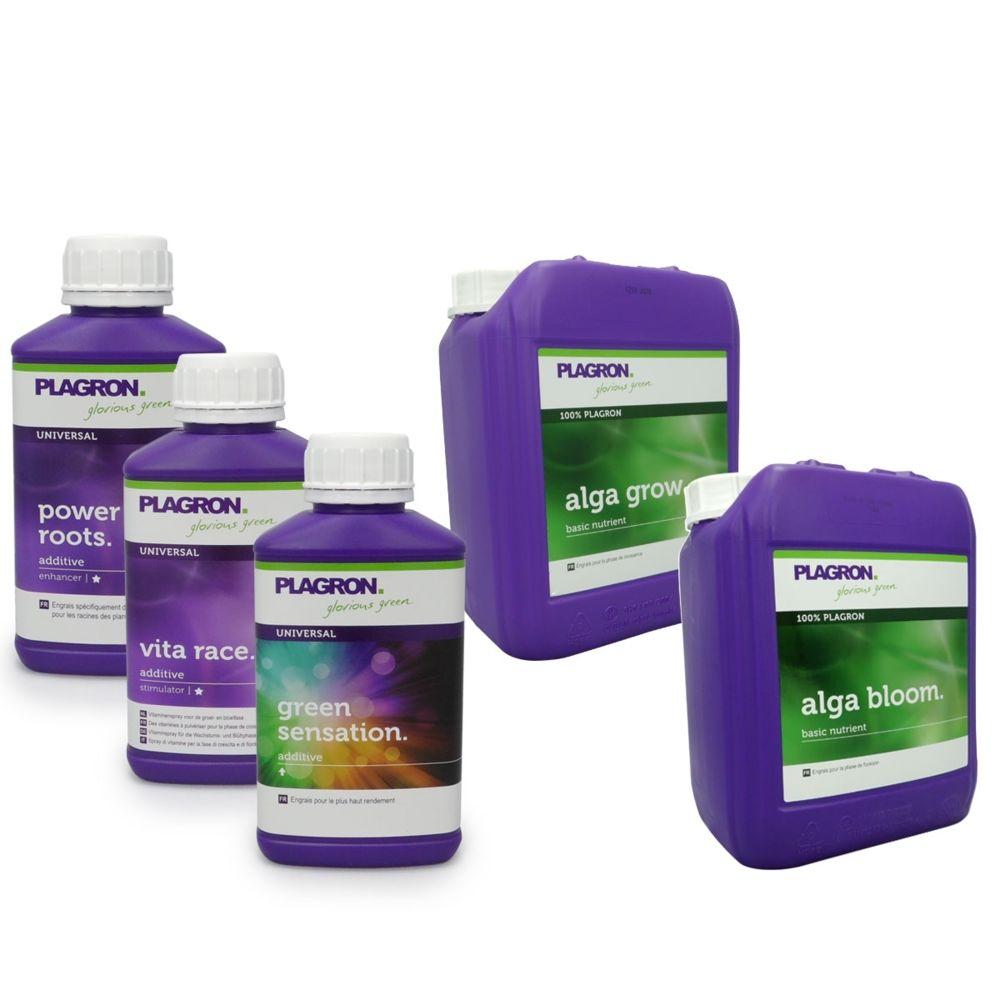 Plagron Pack engrais Alga PLAGRON 5 litres + stimulants
