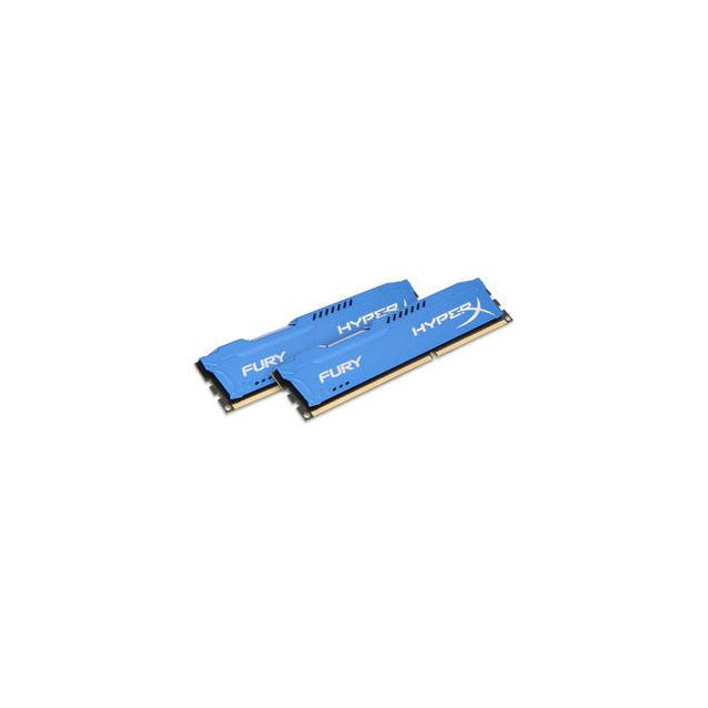 RAM PC Fixe Hyperx HyperX Fury 16 Go Kit Dual Channel Bleu
