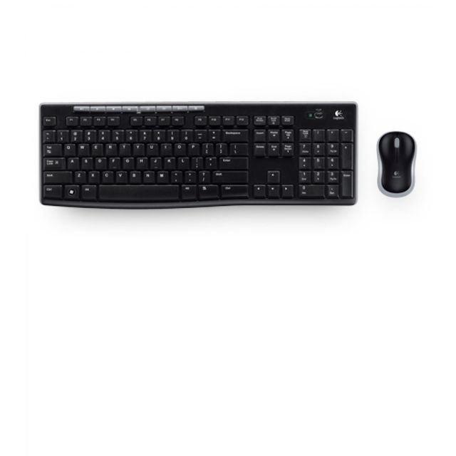 Logitech - Pack clavier + souris Wireless Combo MK270 Logitech   - Pack Clavier Souris