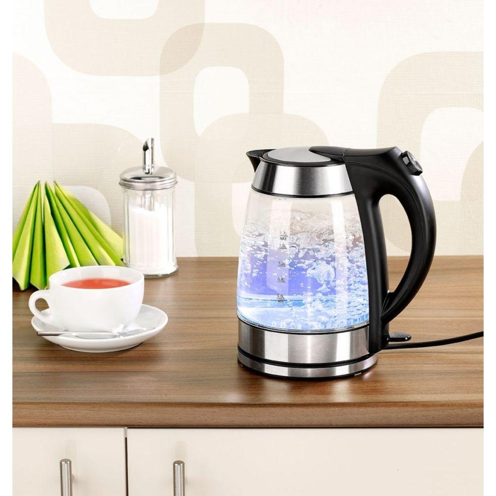 Rosenstein & Sohne Bouilloire électrique à LED couleur changeante