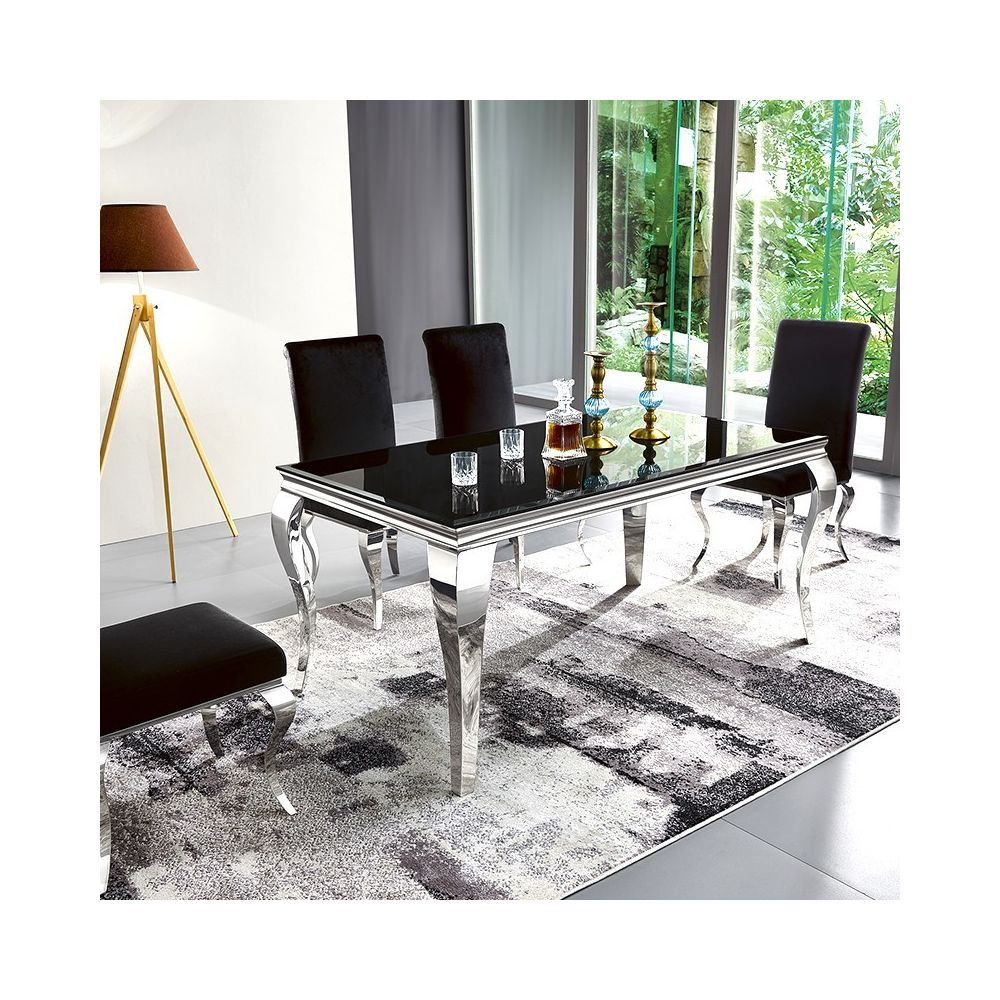 Meubler Design Table à manger design EMA - Noir