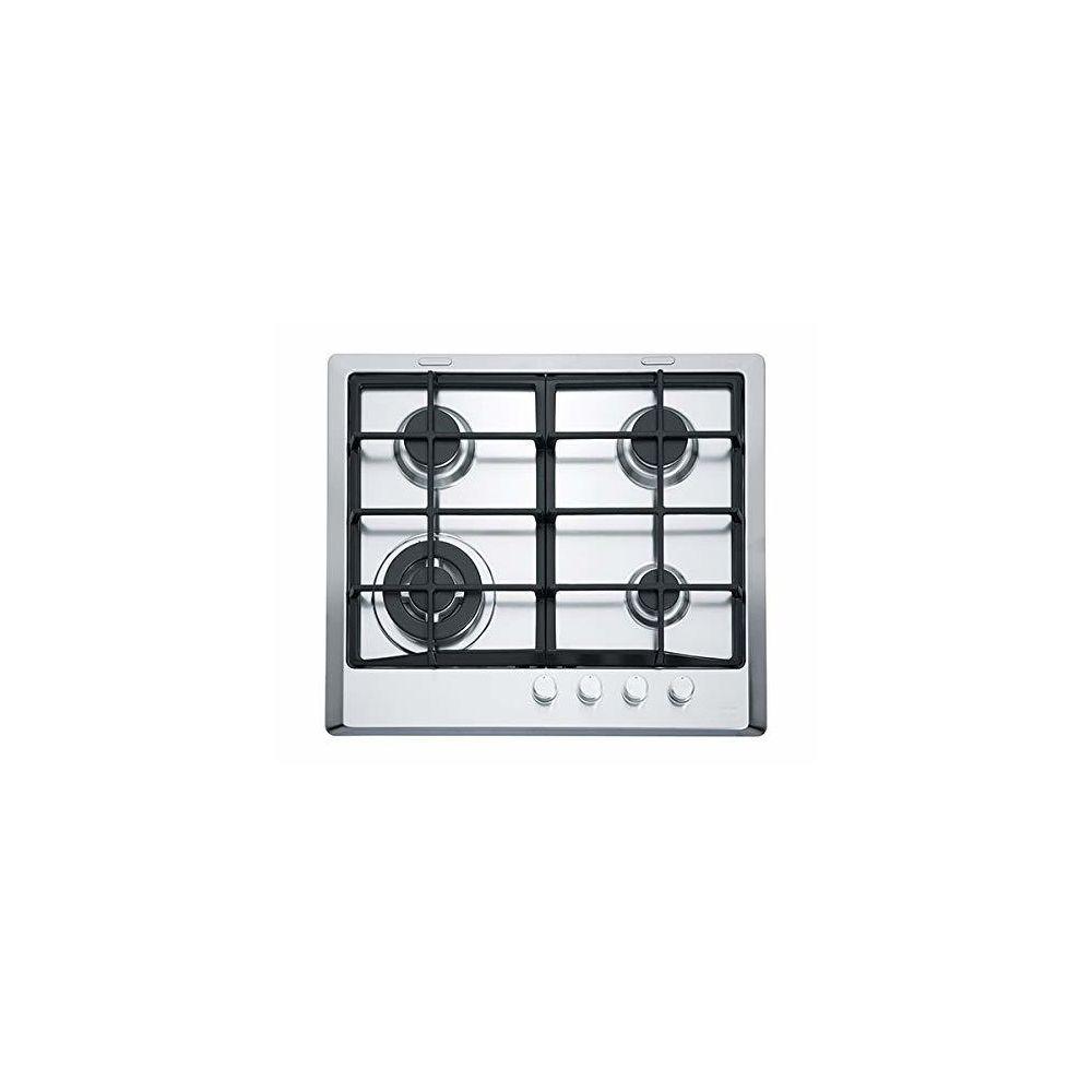 Franke Franke 6600519 Plaque - Plaque (intégré, gaz, acier inoxydable, rotatif, Front, 59 cm)